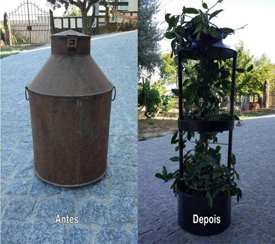 Floreira (Antes e Depois)