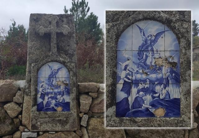 Póvoa de Cervães - Alminha à entrada da povoação  (quem vem das Contenças)